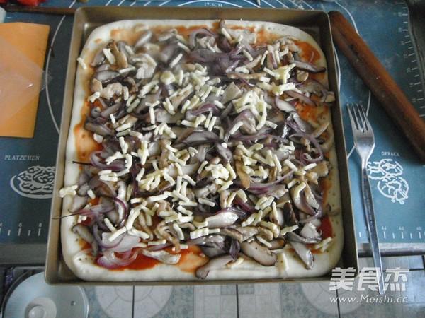 香菇鸡肉披萨怎样炖