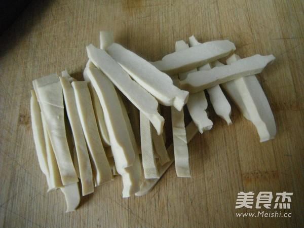 绿豆芽豆腐干炒肉丝的做法图解