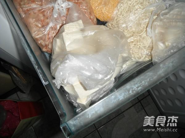 自制冻豆腐怎么做