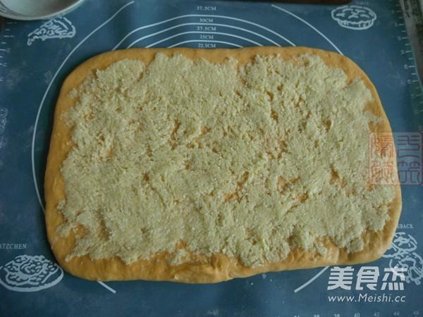 南瓜椰蓉面包卷怎么做