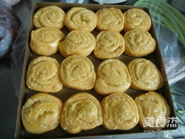 南瓜椰蓉面包卷怎么煸