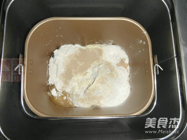 纯牛奶红糖吐司的做法大全