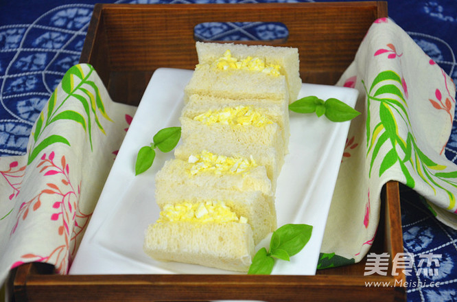 庞多米三明治成品图