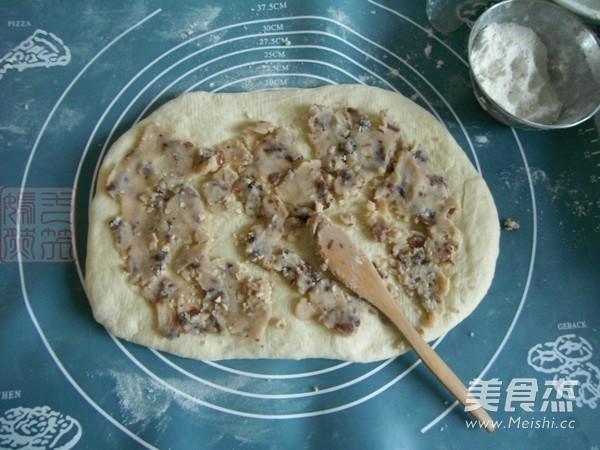白芸豆蔓越莓花环面包怎么做