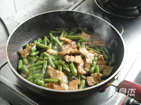 五花肉烧四季豆怎样做