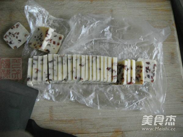 蔓越莓饼干怎样做