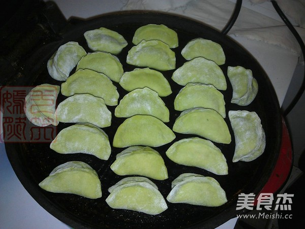 翡翠煎饺怎样做