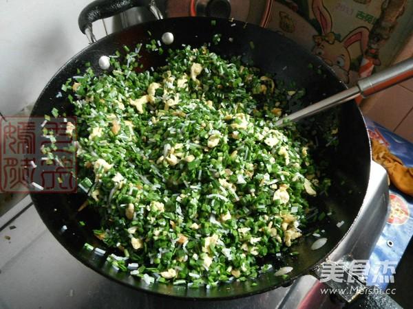 韭菜素馅饺子怎么做