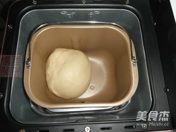 淡奶油蜜红豆吐司的简单做法