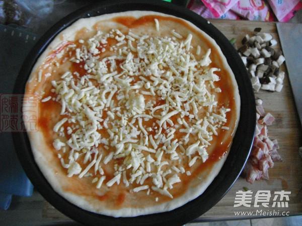 蔬菜培根披萨怎么炒