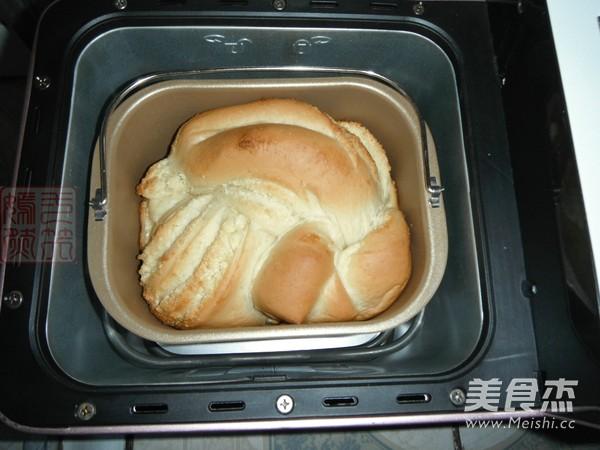 全麦淡奶油椰蓉吐司的制作方法