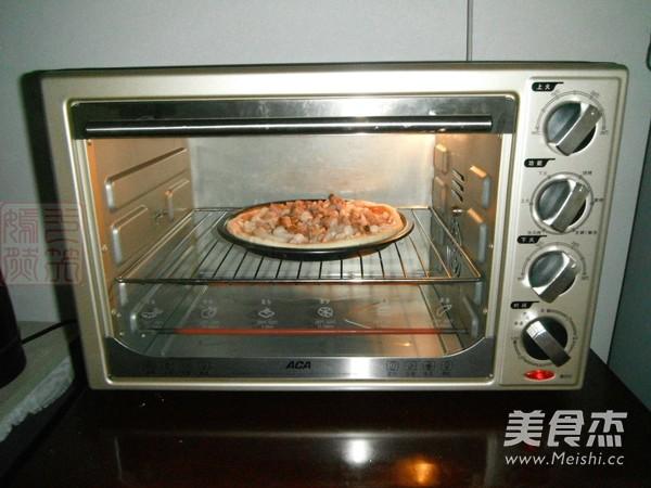 碳烤猪排蘑菇披萨怎样做