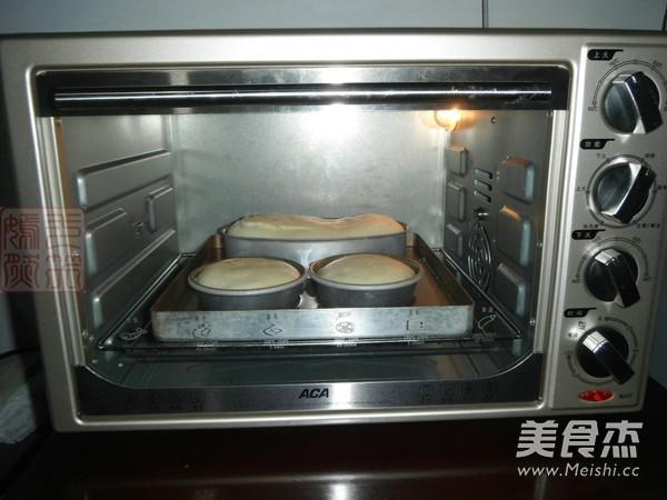 舒芙蕾乳酪蛋糕的制作