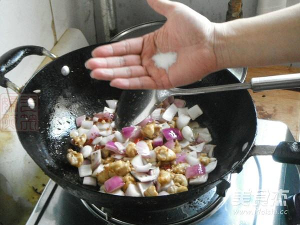 洋葱孜然鸡脆骨怎么煮