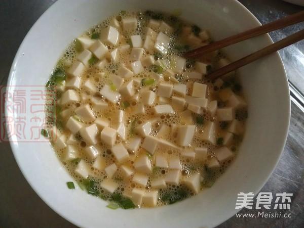香葱豆腐煎蛋怎么做