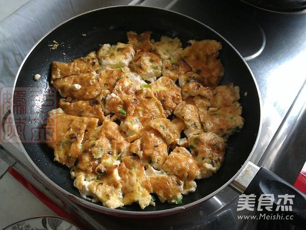 香葱豆腐煎蛋怎么炖