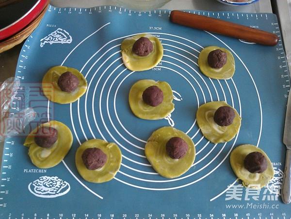 抹茶红豆酥球怎么炒