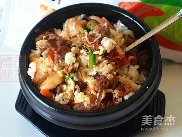 肥牛石锅拌饭怎样煮