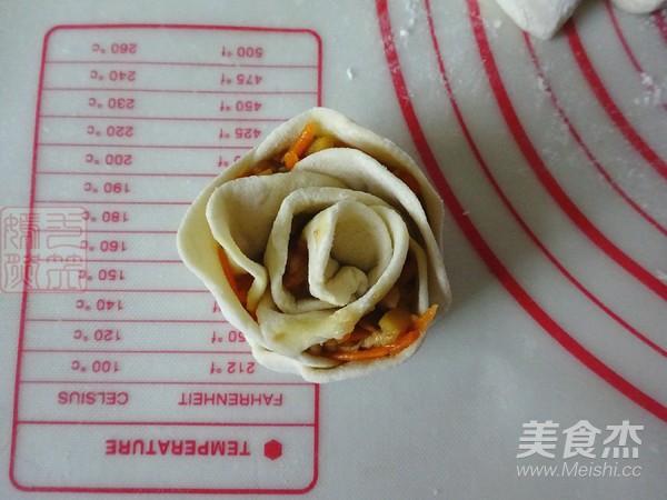 霸王超市 玫瑰煎饺怎样做