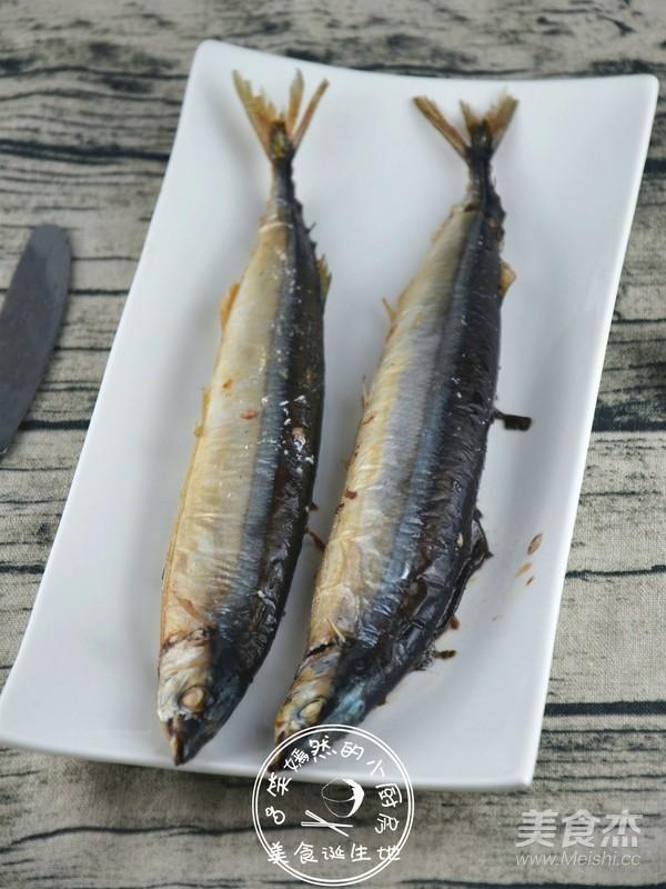 霸王超市|日式烤秋刀鱼成品图