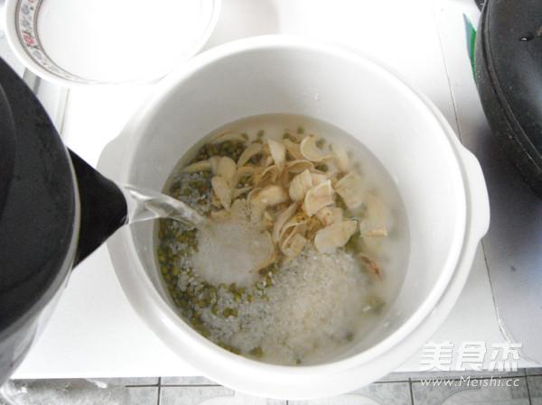 百合绿豆粥怎么吃