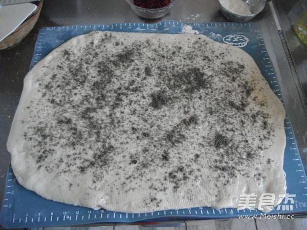 黑芝麻油盐花卷怎么吃