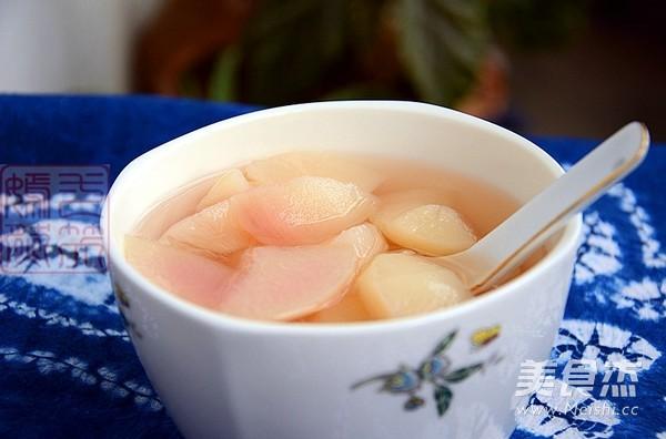 糖水蜜桃成品图