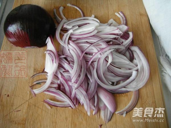 紫皮洋葱炒黑木耳的做法大全