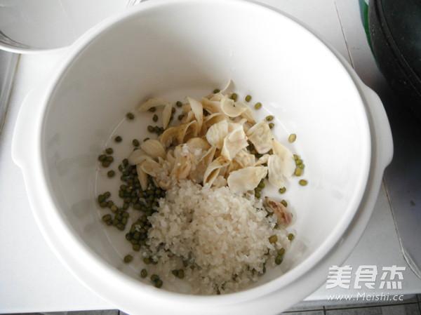 百合绿豆粥的简单做法