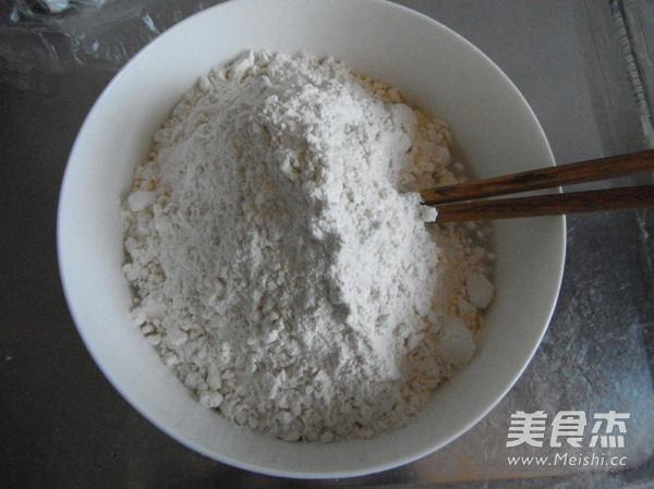 黑芝麻油盐花卷的做法图解