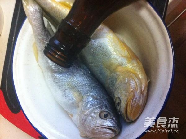 煎蒸小黄鱼的做法图解