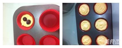 双莓奶酪纸杯蛋糕怎么做