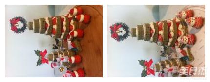圣诞树蛋糕怎样煸