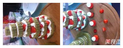 圣诞树蛋糕怎么煸