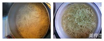 大煮干丝的简单做法