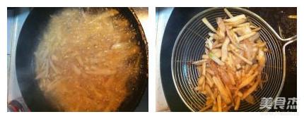 干煸杏鲍菇丝的简单做法