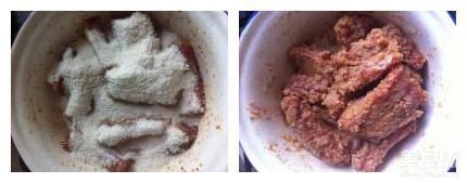 粉蒸排骨的简单做法