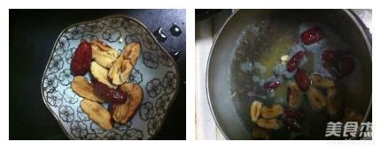 红豆红枣小米糊的做法图解