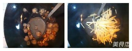 海参煮干丝的简单做法