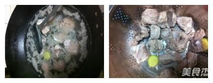 槟榔芋炖排骨的做法图解