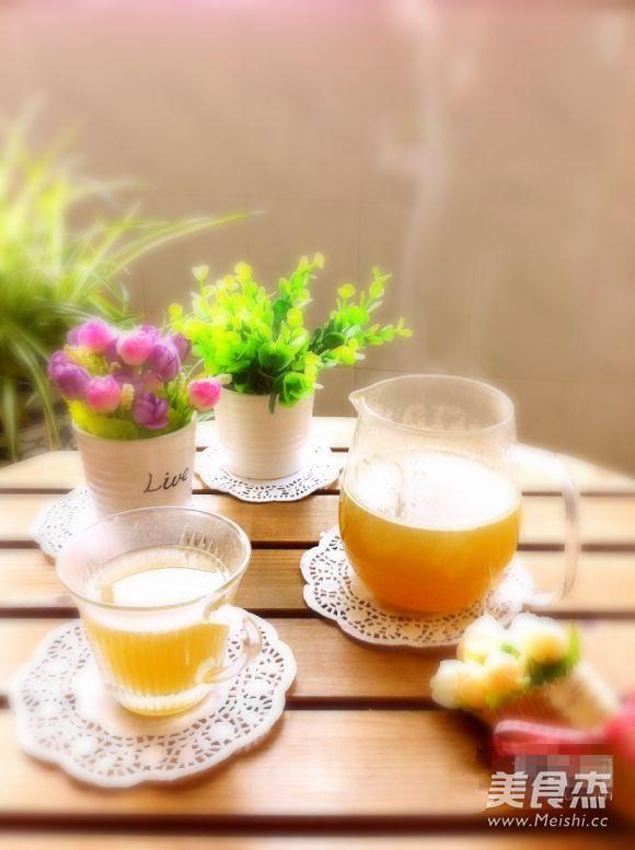 鲜石斛蜂蜜热饮成品图