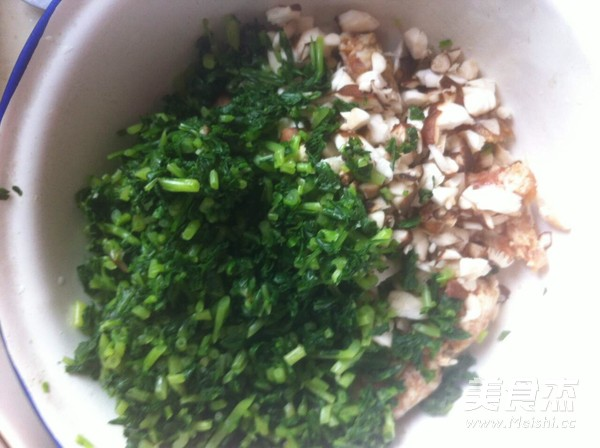 马兰头香菇肉包的家常做法