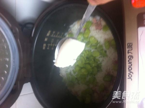 豆瓣咸肉饭怎么煮