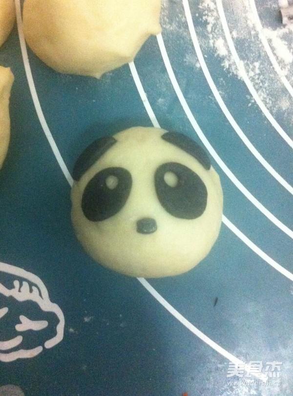 熊猫豆沙包怎样做