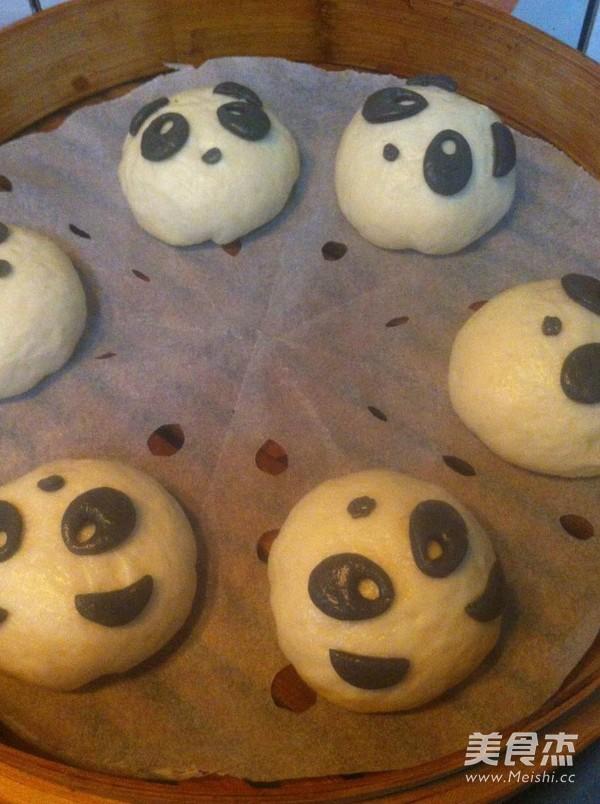 熊猫豆沙包怎样煮