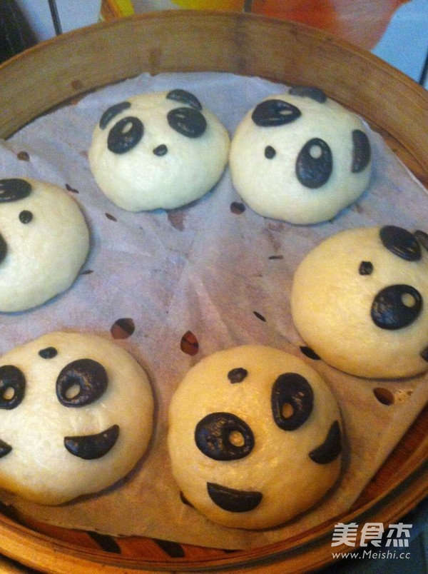 熊猫豆沙包怎样炖