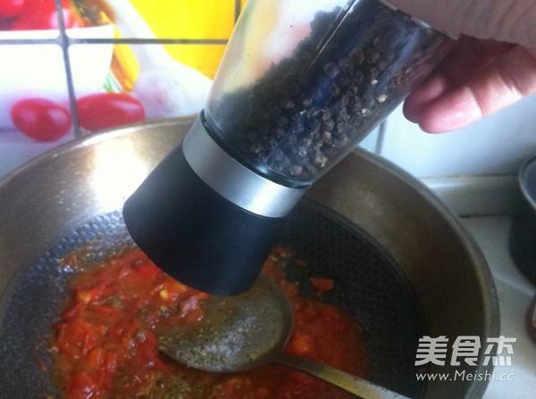 牛肉番茄酱拌意面怎样做
