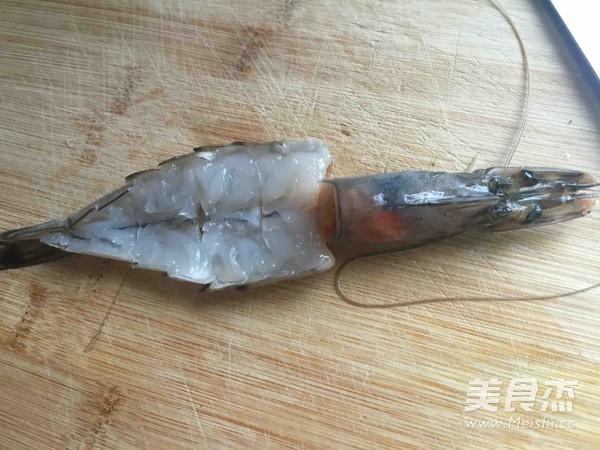 芝士焗大虾的做法图解