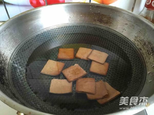 马兰头拌香干怎么吃