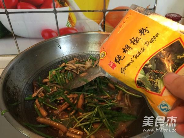 韭菜炒鳝丝怎么煸